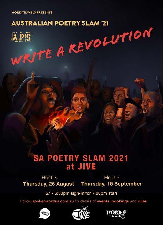 Australian Poetry Slam SA Heat 5
