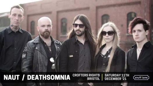 Naut \/ Deathsomnia \/ Zetra - The Crofters Rights, Bristol