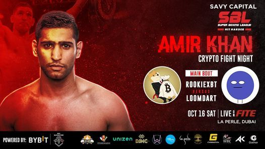 SBL Presents Amir Khan - Crypto Fight Night