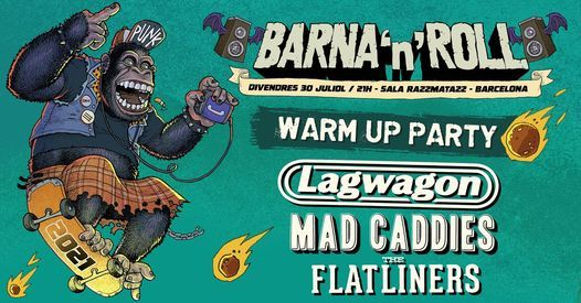 Barna 'n' Roll WARM UP 2020 (Official Event)