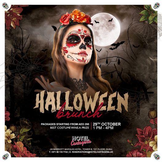 Happy, Scary Halloween Brunch at #HotelCartagena