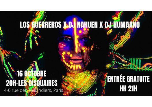 LOS GUERREROS-DJNAHUEN-DJHUMAANO X LES DISQUAIRES