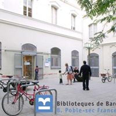 Biblioteca Poble-sec Francesc Boix