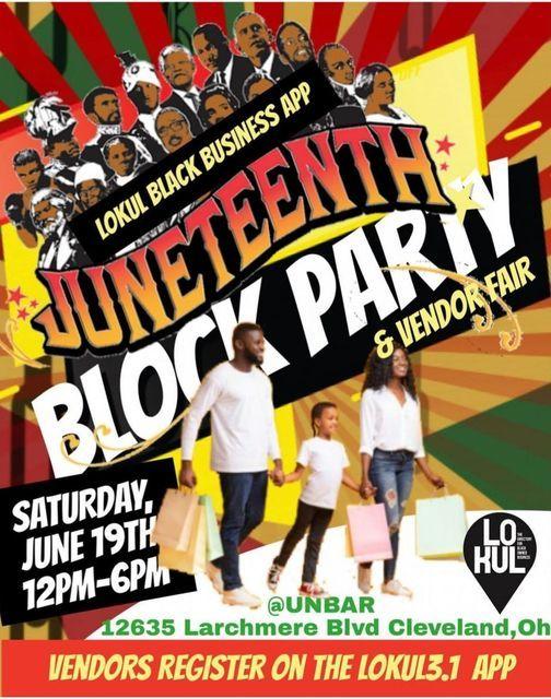 Juneteenth Block Party & Vendor Fair