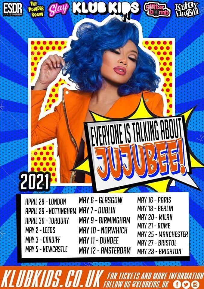 Klub Kids Birmingham Presents JUJUBEE (ages 14+)