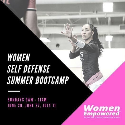 Women Empowered Self Defense Bootcamp