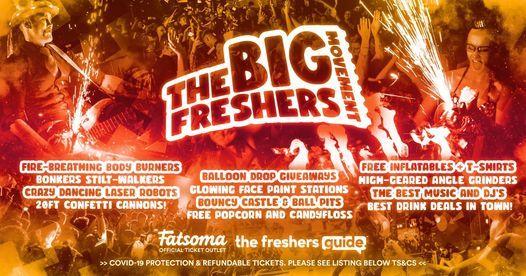 The Big Freshers Movement Birmingham 2021