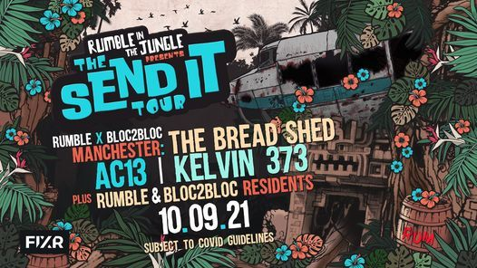 Rumble In The Jungle x Bloc2Bloc - Manchester
