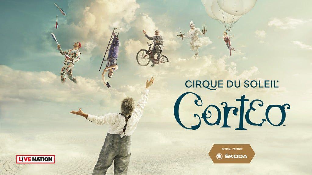CIRQUE DU SOLEIL - Corteo - Platinum