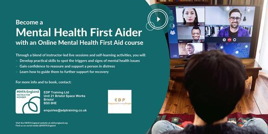Face 2 Face Mental Health First Aid Certificate  - MHFA