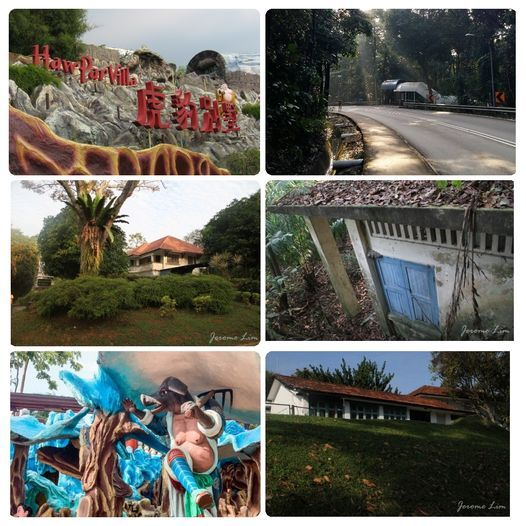 ***Kent Ridge Heritage Walk->British Fortress->Battle of Pasir Panjang->99 Bends ->Haw Par Villa***