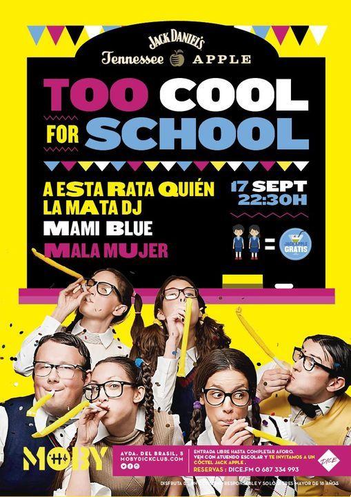 Jack Daniel\u2019s Apple presenta TOO COOL X SCHOOL \u2013 Fiesta Vuelta Al Cole