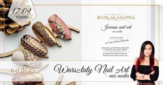 Mix media - warsztaty nail art (jesie\u0144 2021) \/400z\u0142,-