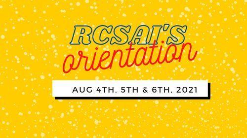 RCSAI's Orientation: KG-8th w\/ Siblings