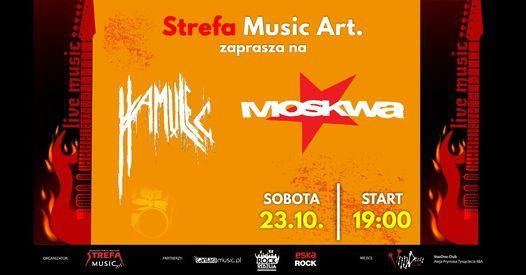 MOSKWA Punk Fest + Hamulec  w VooDoo Club