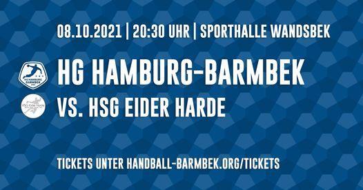 HG Hamburg-Barmbek vs. HSG Eider Harde