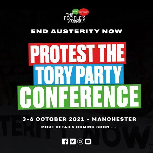 Protest The Tory Party Conference