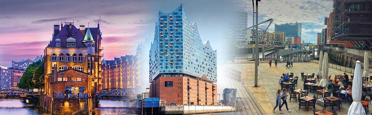 Hamborg p\u00e5 dansk: Speicherstadt, HafenCity og koncerthuset Elbphilharmonie