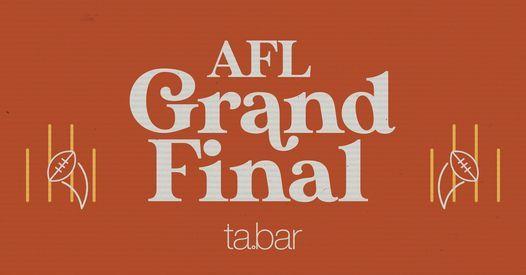 AFL Grand Final at the TA