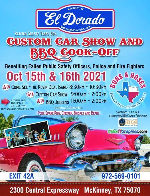 Sheriff Terry Box Custom Car Show & BBQ Cook-Off