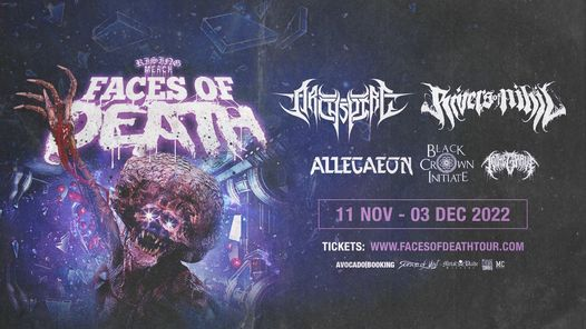 Rising Merch Faces of Death Tour 2021 - Munich