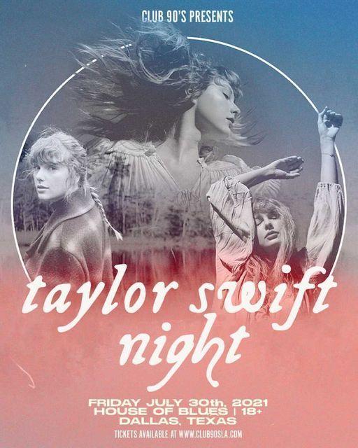 Club 90's Taylor Swift Night