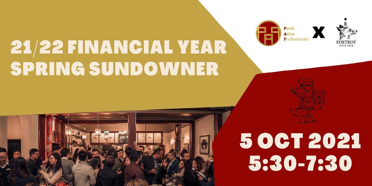 21\/22 Financial Year Spring Sundowner
