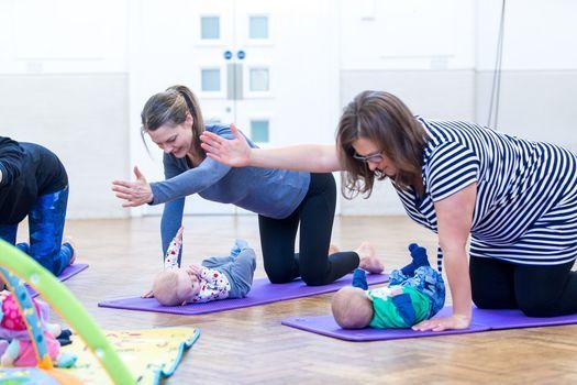 Post Natal Pilates - Mum & baby