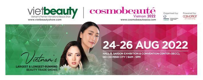 Vietbeauty & Cosmobeaut\u00e9 Vietnam 2021 - Ra m\u1eaft Tri\u1ec3n l\u00e3m Hybrid (Offline-Online)chuy\u00ean ng\u00e0nh l\u00e0m \u0111\u1eb9p