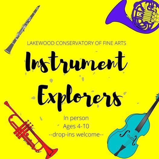 Instrument Explorers - LAKEWOOD CAMP