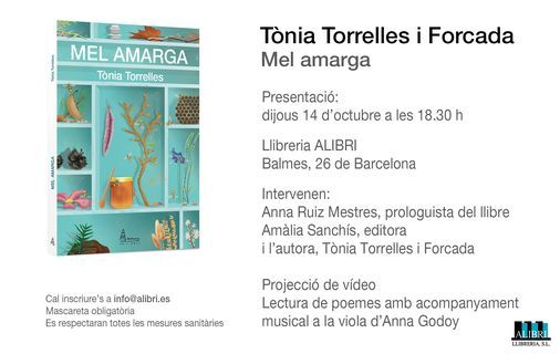 """Mel amarga"" T\u00f2nia Torrelles"