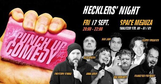 PUNCH UP Comedy: Hecklers' Standup in English