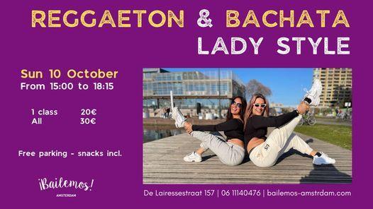 Reggaeton & Bachata Lady Style in Amsterdam