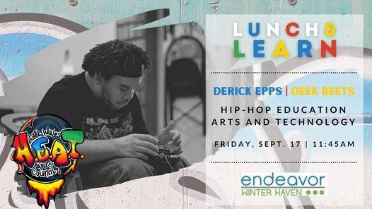 September Lunch & Learn: Derick Epps, Deek Beats