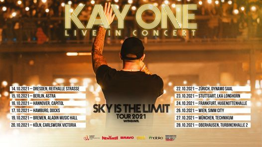 Kay One \/\/ Sky Is The Limit Tour 2021 \/\/ Hamburg