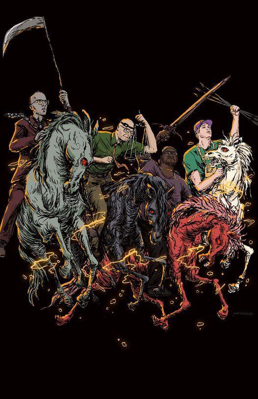Four Horsemen - MC Lars & Mega Ran & MC Frontalot & Schaffer The Darklord