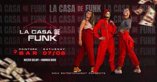 La Casa De Funk | 07 Aug at Pointers Bar