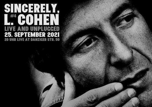 SINCERELY, L. COHEN #4
