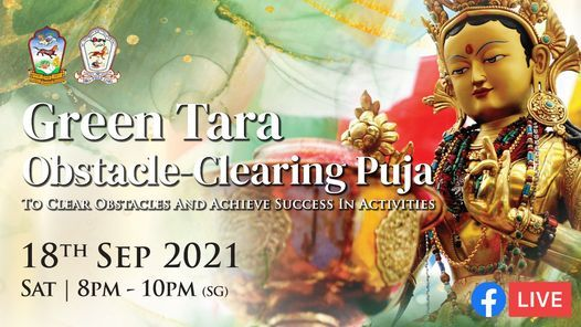 Green Tara Obstacle-Clearing Puja