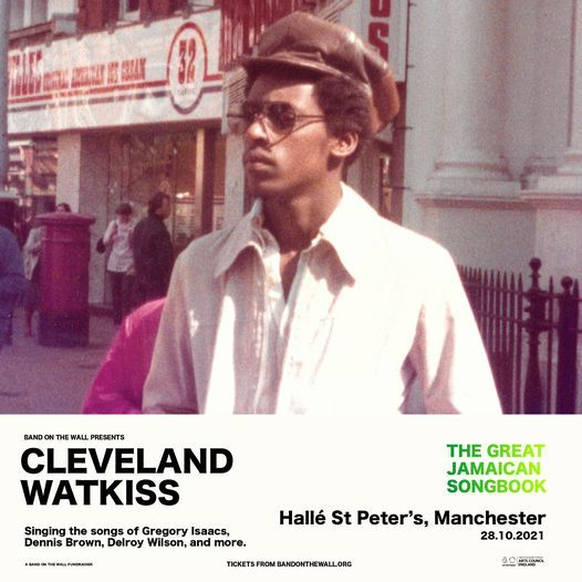 Cleveland Watkiss presents The Great Jamaican Songbook live at Hall\u00e9 St. Peter's, Manchester
