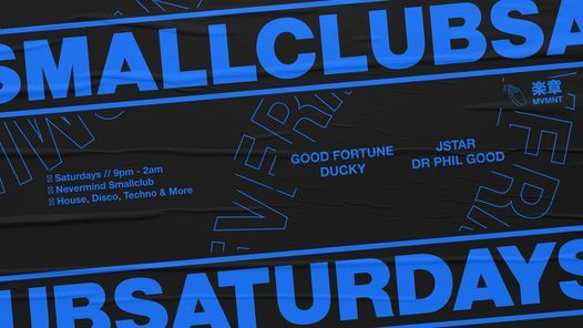 Smallclub Saturdays