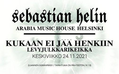 Kukaan Ei J\u00e4\u00e4 Henkiin LEVYJULKKARIKEIKKA KE 24.11.2021 ARABIA MUSIC HOUSE, HELSINKI (IK\u00c4RAJATON)