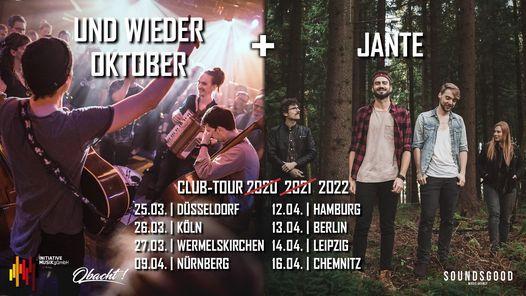 Jante + Und Wieder Oktober | Hamburg