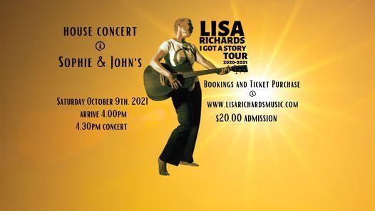 House Concert  @ Sophie & John's