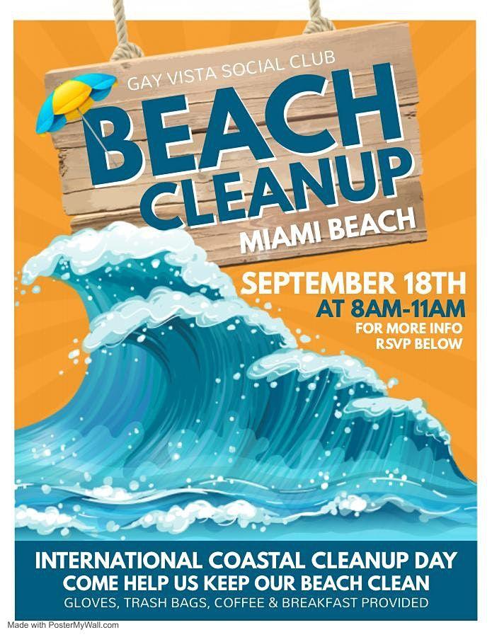 Beach Cleanup with Gay Vista Social Club