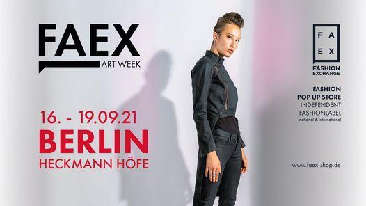 FAEX Fashion meets Berlin Art Week  September 2021