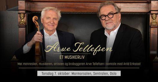 Arve Tellefsen - Et musikerliv \/\/ Sentralen