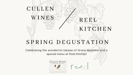 SOLD OUT - Cullen Wines x Reel Kitchen Spring Degustation