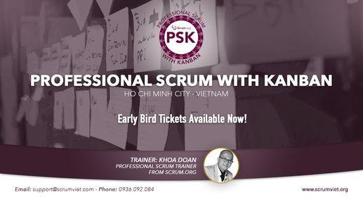 Kho\u00e1 H\u1ecdc Professional Scrum with Kanban (PSK) th\u00e1ng 11 n\u0103m 2021