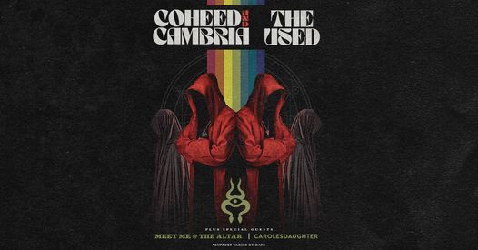 Coheed And Cambria & The Used 2021